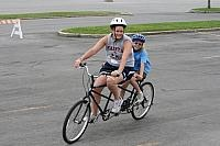 tandem bike riding