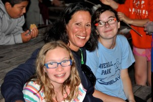 Photo of Dr. Lauren Lieberman at the Inaugural Camp Abilities Saratoga Picnic