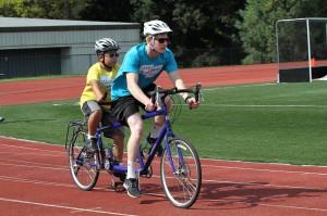 Tandem Bicycling